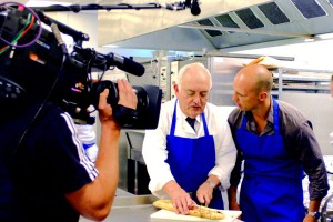 Matt Dawson in the Truffles Kitchen